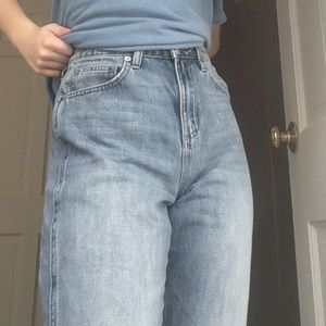 Garage High Waisted Mom Jeans